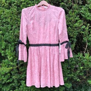 Letarte***Embroidery Party Dress**Small